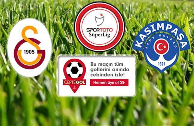 Galatasaray - Kasımpaşa (CANLI)