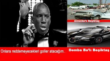 Demba Ba sosyal medyayı yıktı